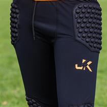 Padded 3/4 Compression Pants