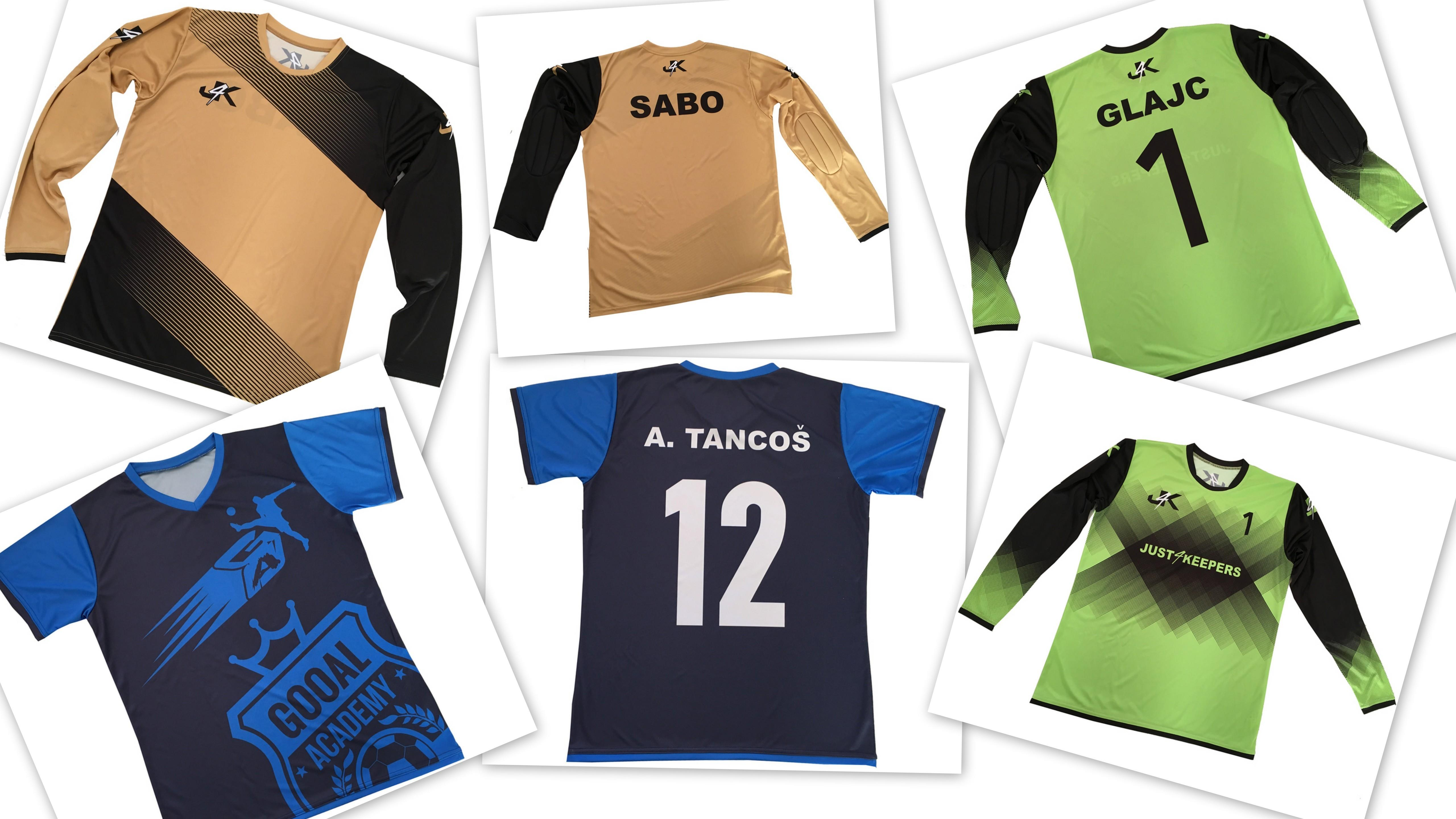 New goalkeeper apparel from your KIT Builder